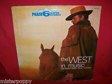 Phase 6 SCIASCIA FIVE LORDS CAT COLLINS The West in Music LP 1970 ITALY EX
