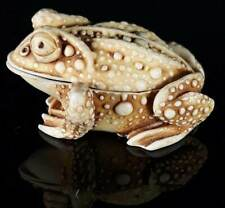 Retired Harmony Kingdom Princely Thoughts Toad Figurine Treasure Jest Signed