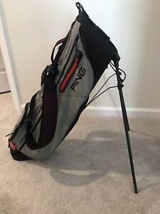 Ping Hoofer Craz-e-LITE stand golf bag Red/White/Blue
