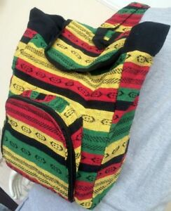 Hippie  Boho Gypsy backpack Traditional Ethnic Rucksack Shoulder School Bag