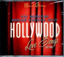 HOLLYWOOD LOVE SONGS 1 MUSIC CD,Romantic Love Songs on SOLO PIANO