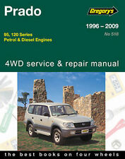 Toyota Prado 1996-2009 Workshop Repair Manual with MPN GAP05518
