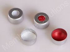 Pre-silt White PTFE/red silicone septa Aluminium cap for 2ml crimp top vial