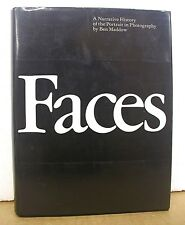 Faces - A Narrative History of the Portrait in Photography by Ben Maddow HB/DJ