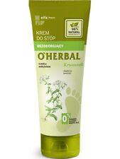 10,65EUR/100ml O'HERBAL Fußcreme- Deodorant Antitranspirant Schafgarbe 75ml