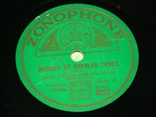 JOHN FIRMAN & SALON ORCH : Medley of popular tunes -1932 UK 78rpm Zonophone 6223