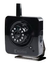 Konig SAS-IPCAM100BU Indoor Internet Camera with Talk Back Facility
