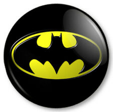 Batman (3) 25mm Pin Button Badge Superhero DC Comics Bruce Wayne Gotham Symbol