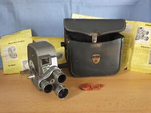 Vintage Keystone K27 Capri 3 Lens Turret 8mm Cine Film Camera - Motor runs