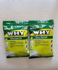 2 RESCUE WHY TRAP WASP HORNET YELLOW JACKET NON-TOXIC ATTRACTANT REFILL