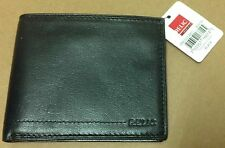 Relic Passcase Flasher bifold wallet black leather NEW w/ tag ID holder card