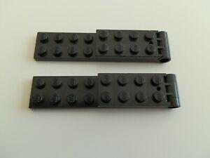 Lego 3324c01 # 2x Scharnier 2x8 Schwarz 398 10021