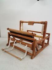 Vintage Wood Table Top Weaving Loom