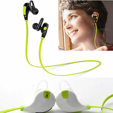 Running Wireless bluetooth stereo headphone Earbud Handsfree For Samsung Galaxy