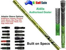 Aldila NV 65S Stiff Flex Shaft + Adaptor Sleeve Tip + Grip - Built on Specs
