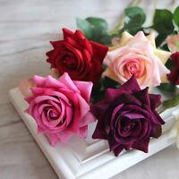 Rose Künstliche Seidenblume Brautstrauß Kunstblumen Hochzeit Dekor-Valentinstag