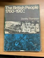 """1971 """"THE BRITISH PEOPLE 1760-1902"""" LARGE ILLUSTRATED PAPERBACK BOOK"""