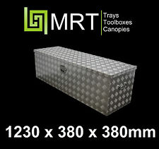 ALUMINIUM UTE TOOLBOX 1230*380*380mm TOOL BOX MRT8