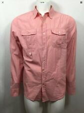 ELWOOD MENS ' WARWICK ' LONG SLEEVE COTTON SHIRT SIZE XL (BNWT)