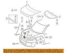 Scion TOYOTA OEM 08-15 xB Hood-Lock Latch 5351012A50