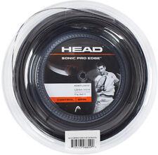 Head Sonic Pro Edge Tennis String Racket Black 1.25mm/17G/200m