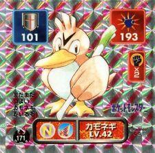 POKEMON STICKER C@rte JAPANESE 50X50 1996 HOLO N° 171 Canarticho Farfetch'd