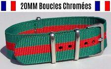 NATO ★ 20MM ★ N°23 ★ Bracelet montre Watch Band Strap Nylon Military Army 007