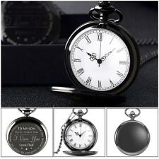 TO MY SON NEVER FORGET I LOVE YOU-LOVE DAD Black Packet Watch For Son's Gifts AU