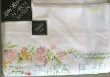 Vintage Twin Flat Sheet Lady Pepperell Floral Nwt