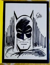 BATMAN & ME /Bob Kane Signed Hand Drawn - Autographed Sketch #577/1000