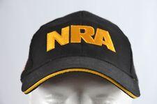 NRA Gorro Gorra de béisbol Asociación Nacional del Rifle EE. UU. Flag Negro  Oro Bordado 417d32160cf