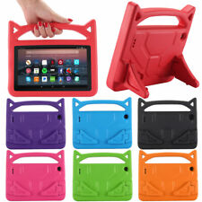 Kids Rubber Handle Stand Case For Amazon Fire HD 10 2019 2017 10.1 Inch Tablet