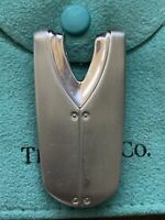 TIFFANY & CO STREAMERICA MONEY CLIP HOLDER Sterling Silver .925% Stamped