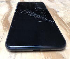 Cricket Icon 2 Android Smartphone For Parts - Broken Screen + Case & Box Bundle