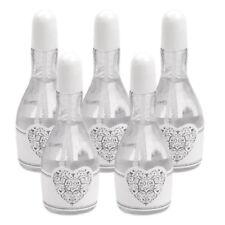Wedding Bubbles Champagner weiß 24 Stück - Seifenblasen Hochzeit - Gastgeschenk
