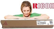 Ricoh GENUINE/ORIGINAL MAGENTA Copier Toner Cartridge 841697 MP C5502S 5502