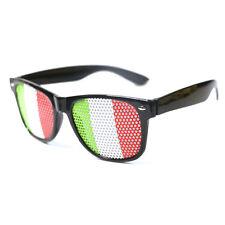Italy flag glasses,fun party glasses,Italian flag glasses,novelty glasses