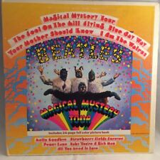 The Beatles Magical Mystery Tour Lp 1967 Capitol Records Smal-2835 With Booklet
