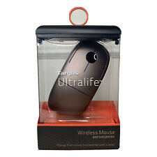 Targus Ultralife Wireless Mouse and Presenter for Ultrabooks and PC AMW066US