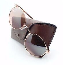Randolph P3 Rose Gold Sahara Mirror Skull P3P5408NY USA Authentic New Sunglasses