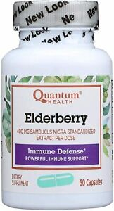 Elderberry Extract by Quantum Research, 60 capsules