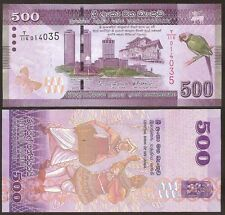 Sri Lanka - 500 Rupees -  UNC currency note - 2015 issue