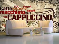 Cup of Coffee Wall Mural Photo Wallpaper GIANT DECOR Paper Poster Free Paste