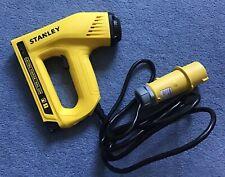 Stanley 110V 2 in 1 Tacker Brad Nailer Stapler Electric Nail Staple Gun TRE550Z