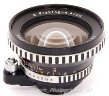 FLEKTOGON 4/20mm - AUS JENA SUPER Grandangolo per EXAKTA 35 mm SLR & fotocamere digitali