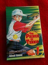 The Prince Of Tennis Vol. 1 Shounen Jump Manga