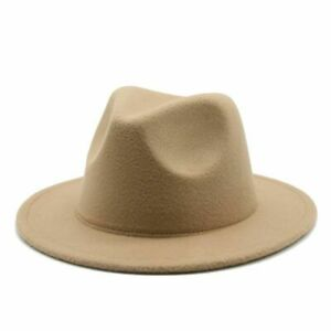 52cm Small Kids Fedora Hats Four Seasons Boys Girls Children White Black Hat
