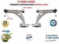 2x FRONT WISHBONE SUSPENSION ARMS for VW PASSAT 1.6 TDI 2010-2014