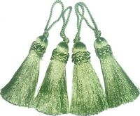 SILKY KEY TASSELS, ASSORTED COLS, X4, CUSHIONS, BLINDS, CURTAINS, ART 11827/9