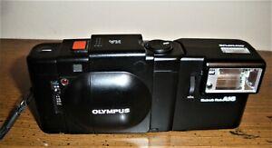 Beautiful Near Mint OLYMPUS XA with A16 Flash -- Film Tested-- Rangefinder--Nice